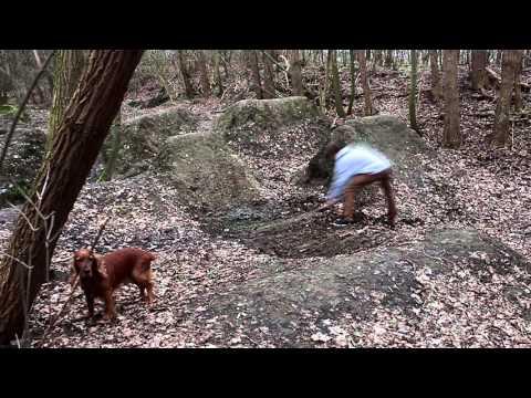 Building a dirt jump!