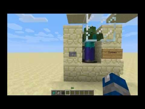 Tuto Minecraft 1.5.1 - Mob Grinder (Skeleton/Zombie/Cave Spider)