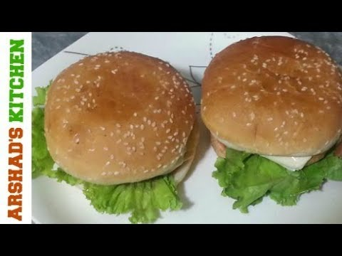 Quick Chicken Burger Patties l Kid's Lunch Box Recipe In Urdu/Hindi l By Arshad