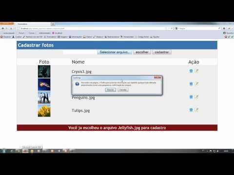 Renomear arquivos usando php jquery parte 2