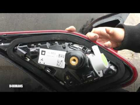 How To Change/Remove Rear Boot Lights (Clusters)