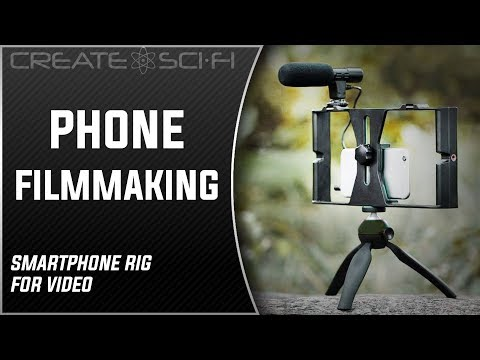 How To Turn Your Smartphone Into A Inexpensive DSLR Style Video Camera With A Simple Rig & Apps