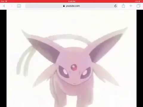 Pokémon-Espeon[For Espeon Diamond Sun]