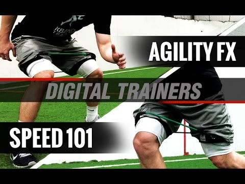 Includes Speed 101 & Agility FX Digital Trainers