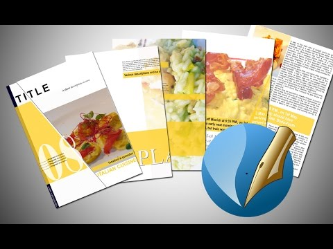 Scribus 1.5.3 how to create a brochure - tutorial and template