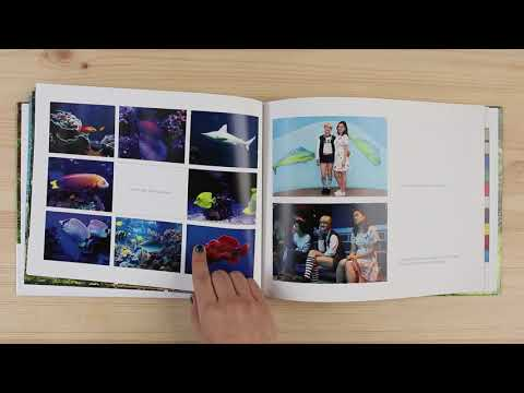 Shutterfly photo book flip through - our pick for best photo book service