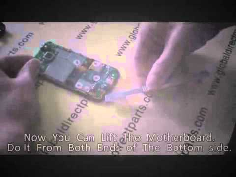 HTC Droid Eris Take Apart Tear Down Video