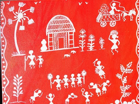 WARLI BASIC PAINTING FOR BEGINNERS |GETTING STARTED