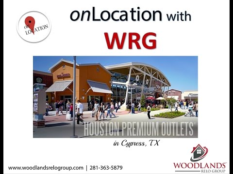 WRG onLocation at Houston Premium Outlets