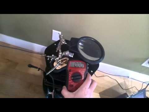 TurtleBot - checking polarity of barrel plug to laptop
