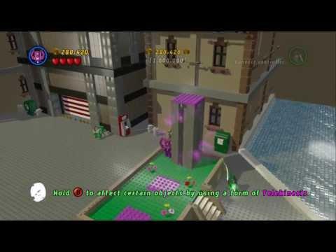 LEGO Marvel Super Heroes - The Brick Apple? - 1,000,000 Stud Challenge - Liberty Island Bonus Level