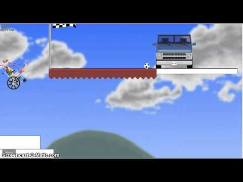 how to beat IT KEEPS HAPPENING in happy wheels with grandpa.