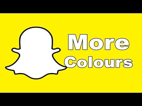 Snapchat Hacks - More Colors