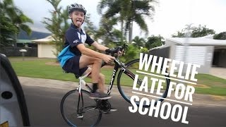 Wheelie Late For School