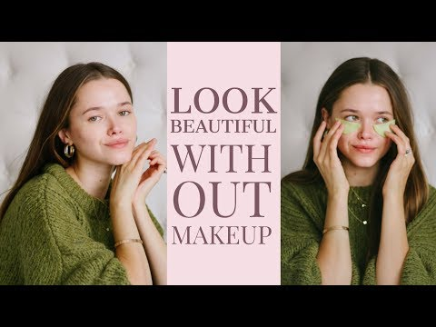 How To Look Beautiful Without Makeup | Model Hacks and Tips