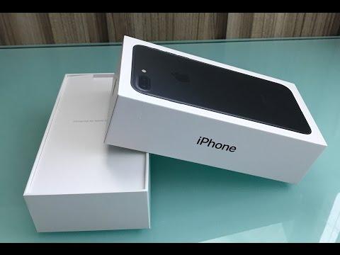 (2017) Unboxing iPhone 7 Plus Matte Black 128GB