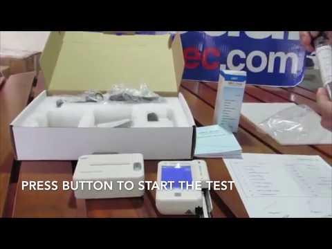 ACR Test Demo - Urine Analyzer | URIT-31