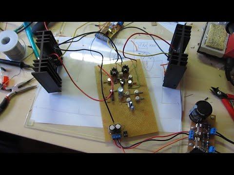 Building a DIY Audio Power Amplifier