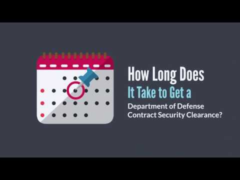 How Long Does It Take to Get a Security Clearance?