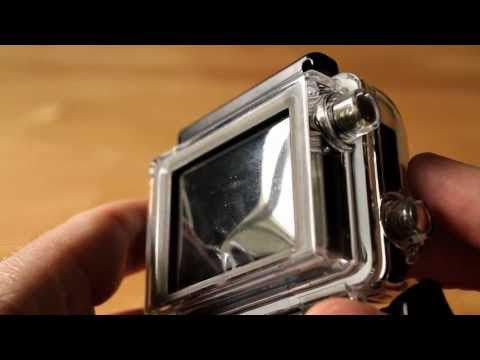 GoPro Hero3 LCD Touch Backdoor Problem