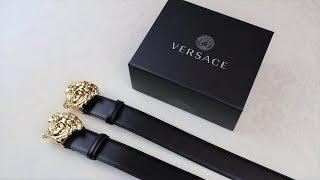 Real vs Replica Versace Palazzo Belt HOW TO SPOT FAKE VERSACE