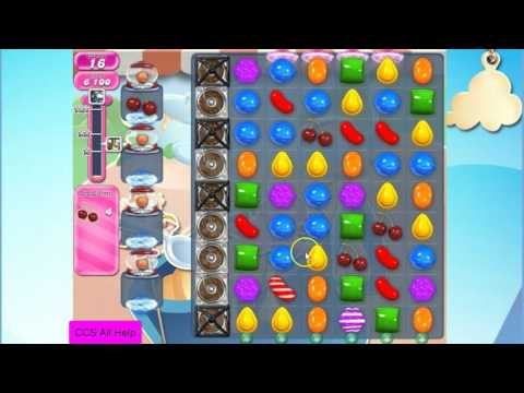 Candy Crush Saga Level 1604 NO BOOSTERS