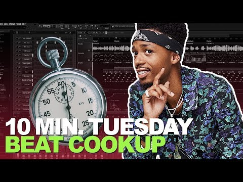 10 MINUTE TUESDAY COOKUP 6/5/18 | Making a Beat In 10 Minutes FL Studio