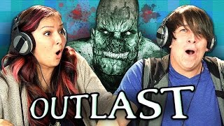 Watch OUTLAST #2: http://goo.gl/J38iJW Watch all episodes - http://goo.gl/2Fp6Kw SUBSCRIBE TO THE REACT CHANNEL: http://goo.gl/c5TeQI Watch all episodes of GAMING: http://goo.gl/TVhuol Watch all REACT channel videos from this week - http://goo.gl/th0yyt Play the game: http://goo.gl/vQA7ok  Teens react and play the first person horror game, Outlast! How far do the Teens get in the game? Gaming episodes air every Sunday on the REACT channel.  OUTLAST: PART 2 - http://goo.gl/r5o9KU OUTLAST: PART 3 - http://goo.gl/AZFEIK OUTLAST: PART 4 - http://goo.gl/HKyqqR OUTLAST: PART 5 - http://goo.gl/JT1cly OUTLAST: PART 6 - http://goo.gl/a76oh2 OUTLAST: PART 7 - http://goo.gl/oMdrud OUTLAST: PART 8 - http://goo.gl/nEaXbN OULAST: FINALE - http://goo.gl/qBqLWZ  Follow Fine Brothers Entertainment: MAIN CHANNEL: http://www.youtube.com/FBE SECOND CHANNEL: http://www.youtube.com/FBE2 REACT CHANNEL: http://www.youtube.com/REACT FACEBOOK: http://www.facebook.com/FineBros TWITTER: http://www.twitter.com/thefinebros INSTAGRAM: http://www.instagram.com/fbe SNAPCHAT: finebros VINE: https://vine.co/TheFineBros TUMBLR: http://fbeofficial.tumblr.com GOOGLE+: http://www.google.com/+thefinebros   SEND US STUFF: TheFineBros P.O. BOX 4324 Valley Village, CA 91617-4324 -------------------------- The following episode featured the following Reactors:  Adam Rae Seth Sophia Tom Tori ------------------------------------- Credits: Created by Benny & Rafi Fine (The Fine Brothers) http://www.youtube.com/TheFineBros Produced by Vincent Ieraci Production Assistant - Danny Donaldson Post Production Supervisor - Nick Bergthold Graphics & Animation - Will Hyler Editor - Brad Hansen Assistant Editor - Cara Bomar, Rachel Lewis Theme Music - Cyrus Ghahremani  © Fine Brothers Entertainment You are prohibited from distributing this show or any React branded content in any way without express consent in any territory worldwide.
