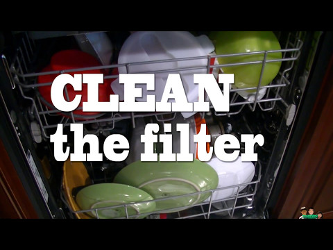 How To Clean The Filter Kenmore Dishwasher