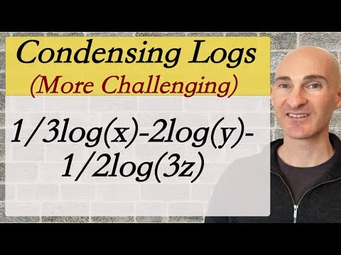 Logs How to Condense (More Challenging)