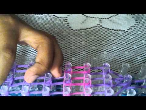 Tutorial: RainbowLoom Bottle Charm