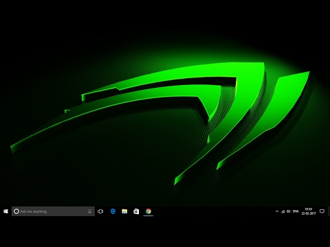 Steps to download NVIDIA graphics driver manually (2017) for windows.