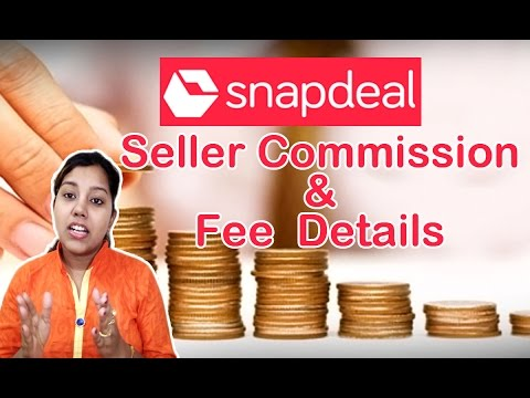 Snapdeal Seller Commission Structure And Fees Explained in Hindi