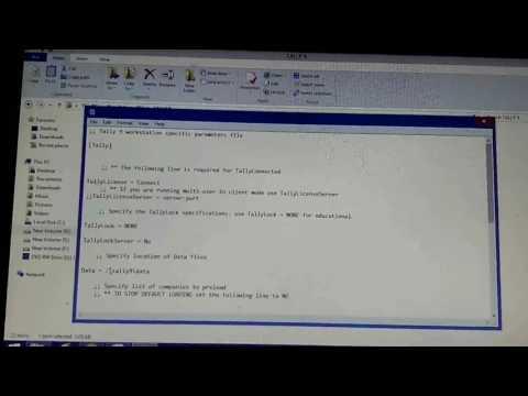 how to solve tallyb9 error