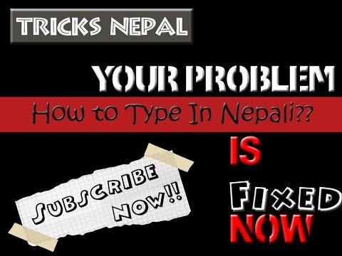 Learn Nepali Typing in 10 Sec