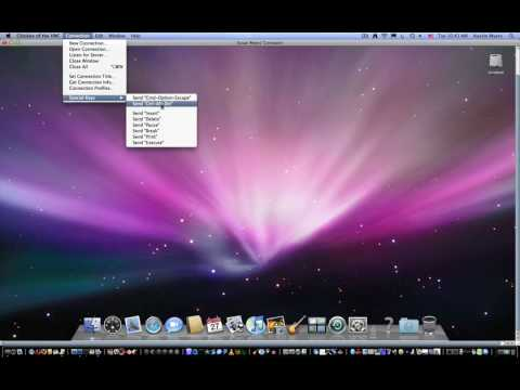 How to control another mac