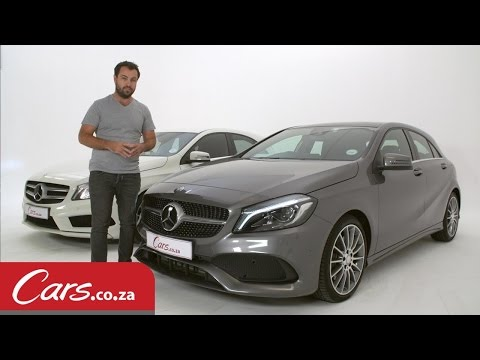 Mercedes Benz A Class Facelift: New vs Old - Side by Side Comparison