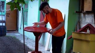 Как сделать круглый стол