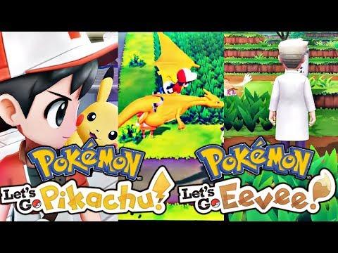 NEW POKEMON GAME - POKEMON LET'S GO PIKACHU & POKEMON LETS GO EEVEE! (Trailer Reaction)