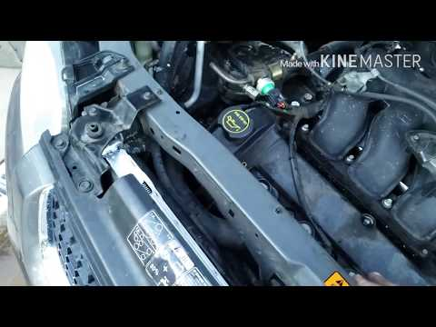 2004 Ford Escape v6 radiator replacement
