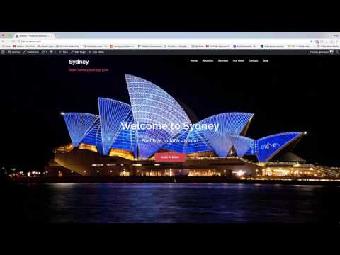 Do More with Sydney Theme - Add Footer