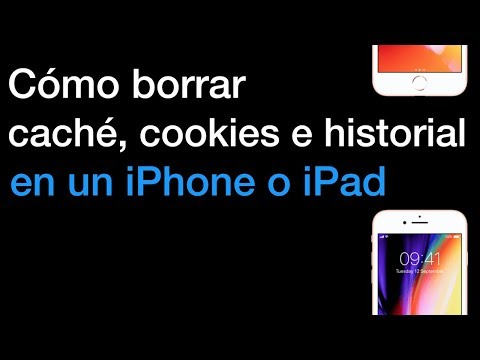 Cómo borrar caché, cookies e historial en un iPhone o iPad - IOS 11.