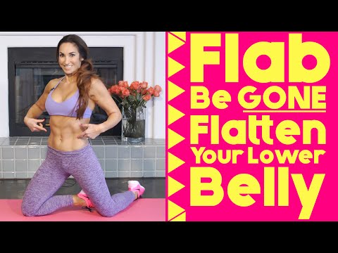 Best Exercises to Flatten Your Lower Belly | Natalie Jill