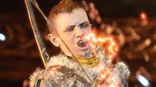 God of War PS4 - Atreus uses Spartan Rage