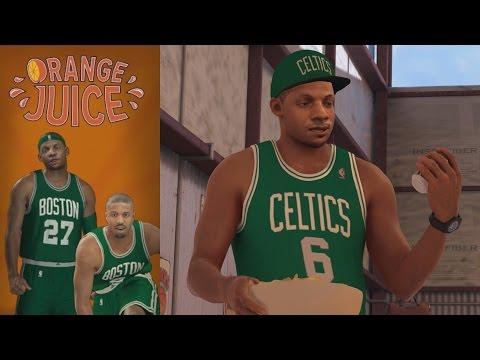 NBA 2K17 PS4 My Career - Orange Juice Activated!