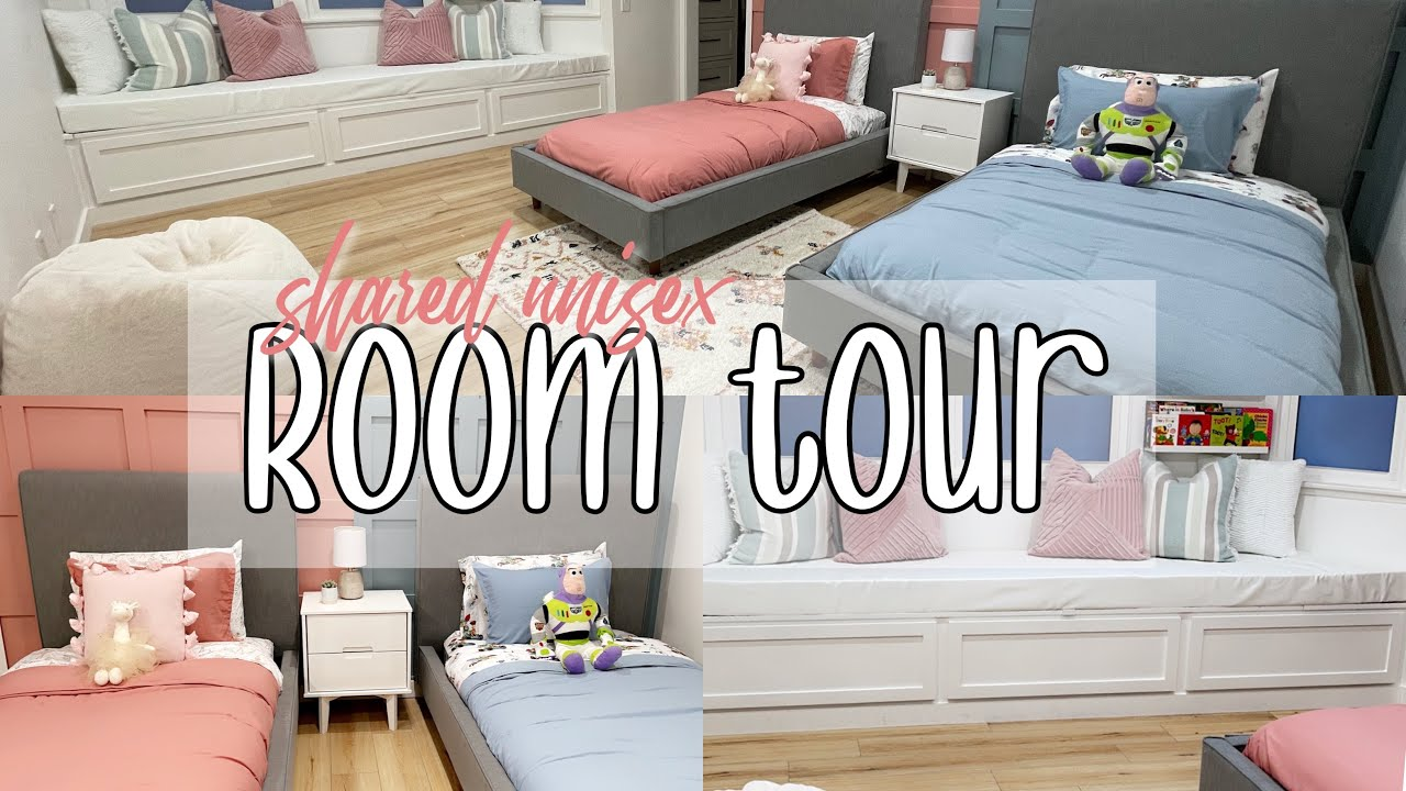 TODDLER ROOM TRANSFORMATION |SHARED UNISEX | SO CUTE |