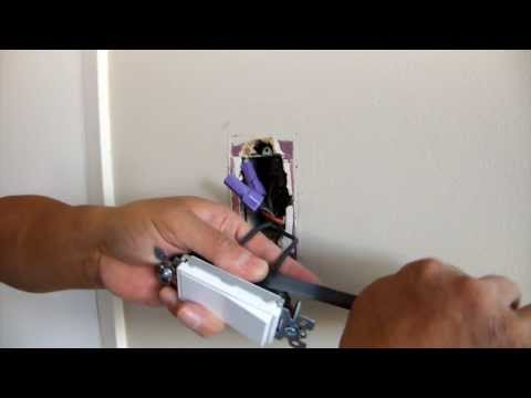 DIY - Switching a switch (electrical device update on Aluminium wiring)