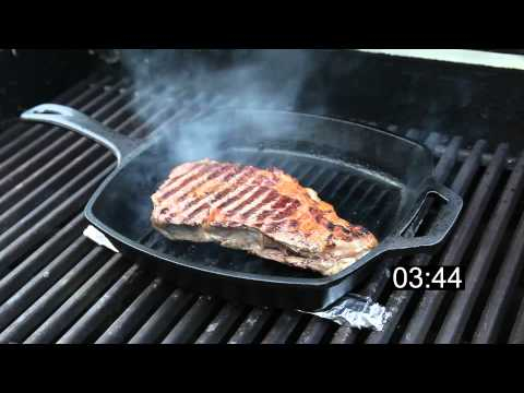 How to Grill a Ribeye Steak on Cast Iron