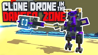 The Hardest Enemy Ever! - New Endless Mode Hammer Bot! - Clone Drone in the Danger Zone Gameplay