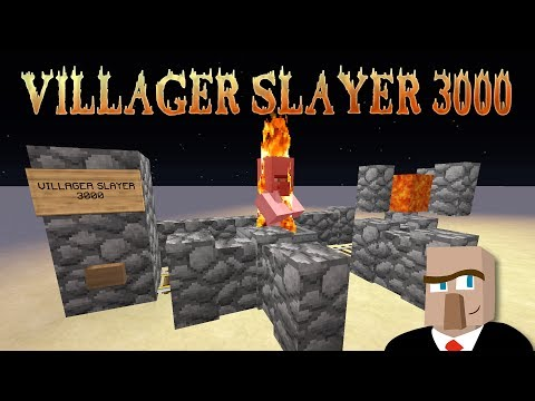 VILLAGER KILLER: How to Kill Villagers the Right Way in Minecraft